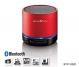 Reflexion BTX1 Rot Tragbarer Bluetooth-Lautsprecher mit microSD, AUX-IN & Akku