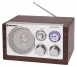 Roadstar HRA-1200W/N Retro Design Tischradio