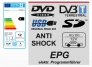 Reflexion DVD9211 Portabler DVD Player mit DVB-T und Akku