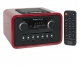 tangent ALIO Baze Retro Design Radio mit CD in Rot