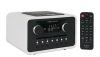 tangent ALIO Baze Retro Design Radio mit CD in Weiss