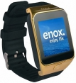 Enox Smartwatch SWP55 in Gold Farbe