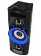 Reflexion PS07BT Mobile Discosoundmaschine mit Bluetooth, Radio, 2x USB, AUX-IN und Akku