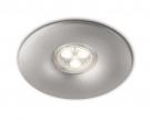 Philips Aquila LED Einbauspot Aluminium 59830 48/16