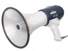 MEGAPHONE 20 mit 20 Watt leistung und integrierte Sirene