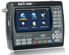 Satlink WS-6951 DVB-S2 mit MPEG-2/MPEG4 Satellitefinder