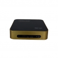 Redline Goldenbox Full HD Sat Receiver mit IPTV, WiFi, Youtube, CA, Unicable