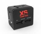 XSories Roamx Cube Universal Reise Adapter Schwarz