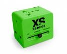 XSories Roamx Cube Universal Reise Adapter Grün