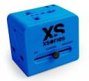 XSories Roamx Cube Universal Reise Adapter Blau