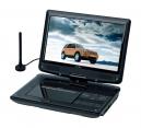 Reflexion DVD1017 portabler 10 LCD-Bildschirm mit DVD-Player und DVB-T2 HD Tuner