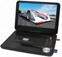 Reflexion DVD1016T2HD portabler 10 LCD-Bildschirm mit DVD-Player und DVB-T2 HD Tuner