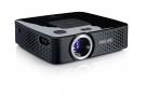 Philips PicoPix PPX3411 Taschenprojektor mit MP4 Player und Akku