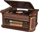 Roadstar HIF-1899NTUMPK Retro HiFi System mit ENCODING Funktion