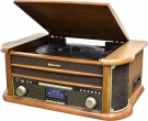 Roadstar HIF-1996D+BT Retro HiFi System mit DAB, Bluetooth und ENCODING Funktion