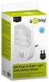 goobay LED-Nachtlicht mit Bewegungsmelder