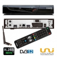 Viark Sat Full HD H.265 HEVC Satelliten Receiver DVB-S2 IPTV 1080p WLAN