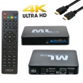 Medialink ML 8100 TV Box Android 7.0.1 Stalker Xtream Miracast 4K 2160p WIFI Netflix