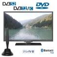 Alphatronics SL-24 DSBI+ Smart LED TV mit 60cm, Triple Tuner, DVD, 12/230V