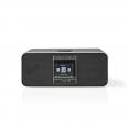 nedis Internetradio mit DAB+ UKW Bluetooth 42 W und Fernbedienung