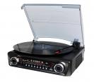 Roadstar TTR-9645EBT Plattenspieler mit Radio, Bluetooth, USB und Encoding