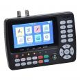 SUMMIT SCT 845 für DVB-S/S2, T/T2, C Digitales Satfinder mit 4,3 LCD-Farbdisplay