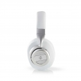 Nedis HPBT5260WT Funkkopfhörer | Bluetooth® | Over-Ear | Aktive Lärmkompensation (ANC) | Weiß