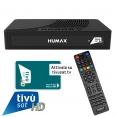 Humax TIVUMAX-HD3800S2 Satellitenreceiver inkl. Tivusat HD Karte