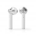 Nedis HPBT3052WT Vollständig kabellose Bluetooth Ohrhörer | 3 Stunden Wiedergabedauer | Sprachsteuerung | Ladeetui