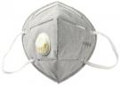 10 x FFP2 KN95 mit VENTIL Grau Atemmaske Maske Gesichtsmaske Filter 5 Lagen