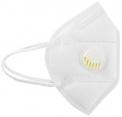 10 x FFP2 KN95 mit VENTIL Weiss Atemmaske Maske Gesichtsmaske Filter 5 Lagen