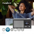 Nedis UKW und Internetradio mit 18W und Bluetooth