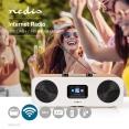 Nedis Internetradio mit DAB+/UKW und Bluetooth und Fernbedienung