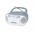 Reflexion RCR2260DAB Boombox mit DAB+ Radio, Kassette, CD, MP3, USB und AUX-IN blau