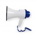 Megaphon MEPH150WT mit 250m Reichweite und bis zu 115 dB | Eingebautes Mikrofon | Eingebaute Sirene