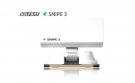 Selfsat Snipe 3 R Single mit Fernbedienung - Vollautomatische Satelliten Camping