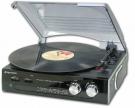 Roadstar TTR-8633 Plattenspieler mit UKW-/MW-Radio und Lautsprecher